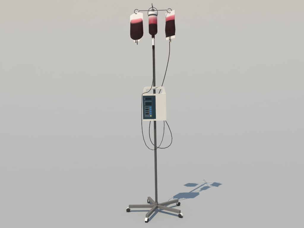 blood-iv-stand-3d-model-1