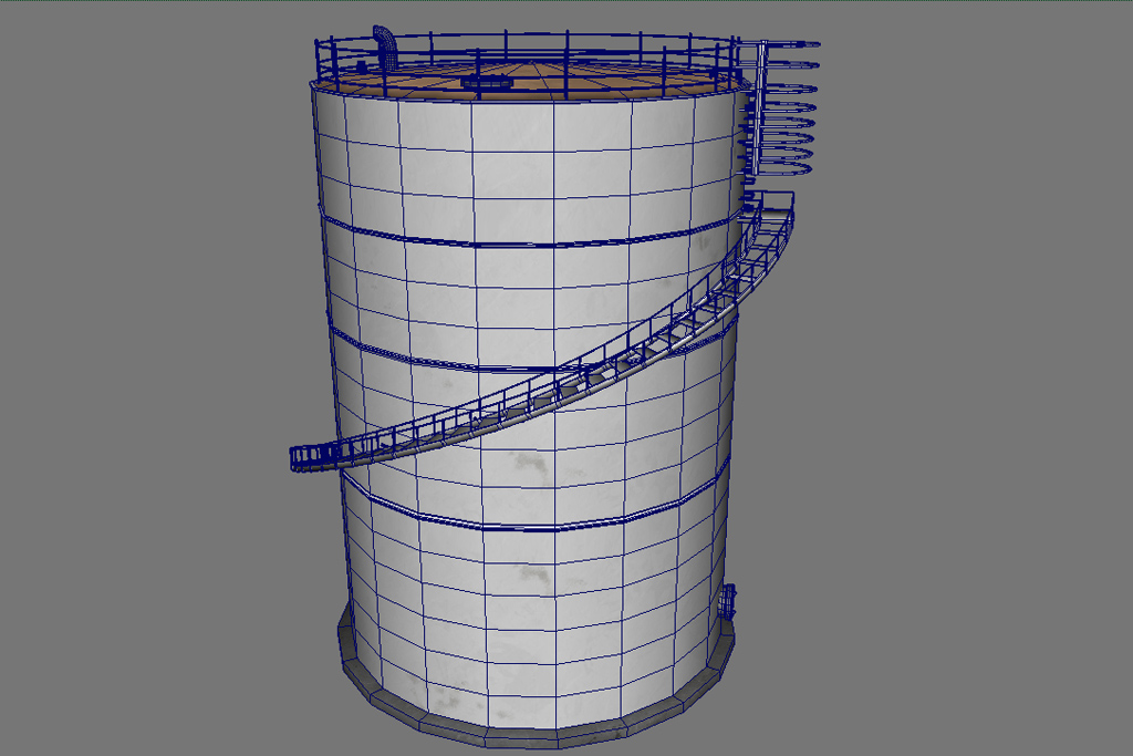 silo 2 3d modeling