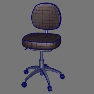 doctor-stool-3d-model-7
