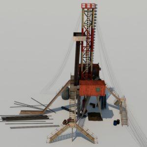 land-drill-rig-3d-model-1a