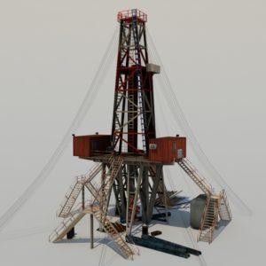 land-drill-rig-3d-model-4a
