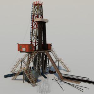 land-drill-rig-3d-model-5a