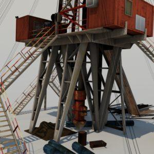land-drill-rig-3d-model-7a