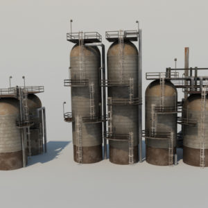 refinery-units-3d-model-1