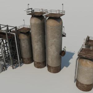 refinery-units-3d-model-4