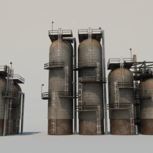refinery-units-3d-model-7
