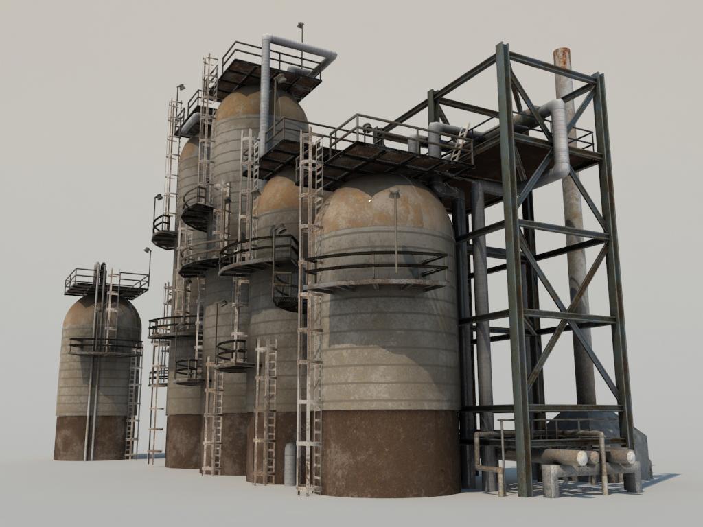 refinery-units-3d-model-9