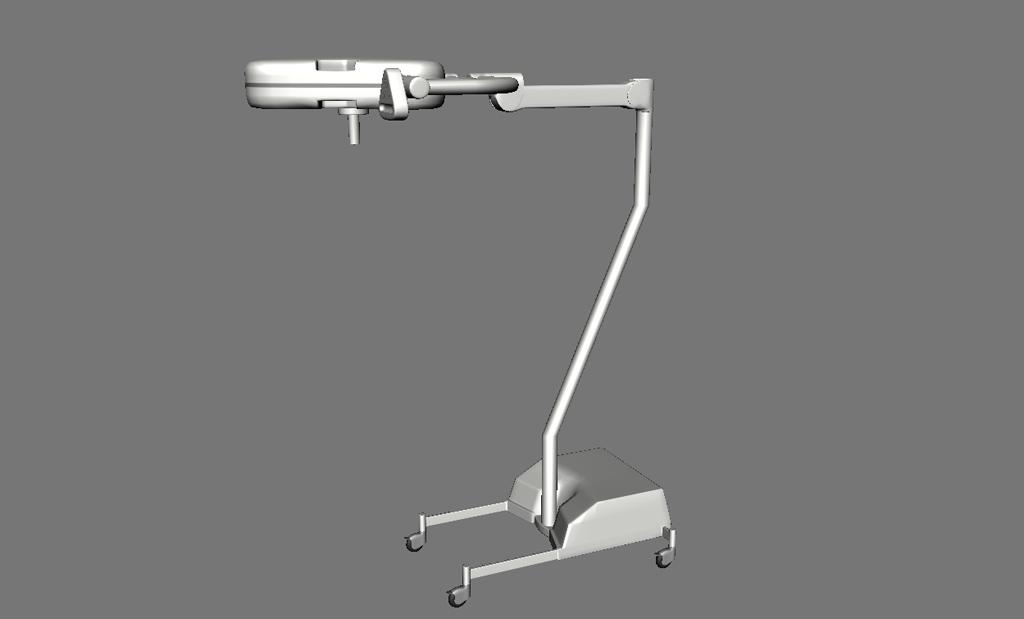 Surgical Lights 3D Model - Realtime - 3D Models World