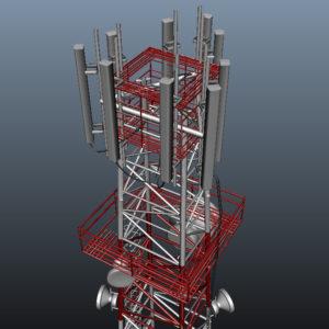 communication-tower-3d-model-16