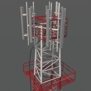 communication-tower-3d-model-3