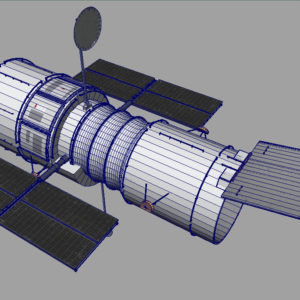 hubble-space-telescope-3d-model-11