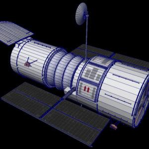 hubble-space-telescope-3d-model-19