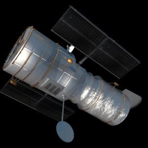 hubble-space-telescope-3d-model-4