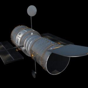 hubble-space-telescope-3d-model-5