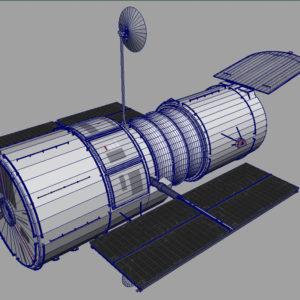 hubble-space-telescope-3d-model-9