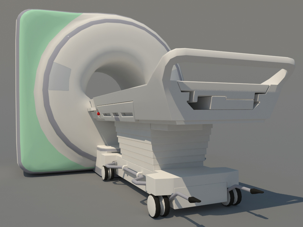 An Open MRI scan machine is built to help patients avoid feeling anxiety  and claustrophobia.