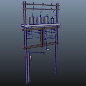 wooden-power-line-distribution-line-voltage-regulators-3d-model-10