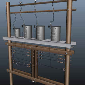 wooden-power-line-distribution-line-voltage-regulators-3d-model-11