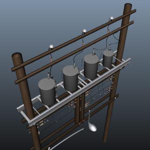 wooden-power-line-distribution-line-voltage-regulators-3d-model-13