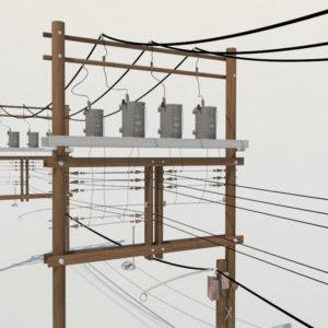 wooden-power-line-distribution-line-voltage-regulators-3d-model-3