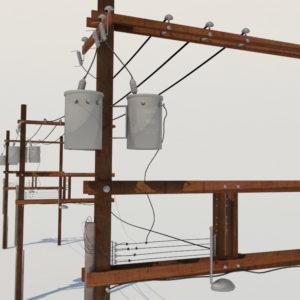 distribution-line-voltage-regulators-3d-model-1