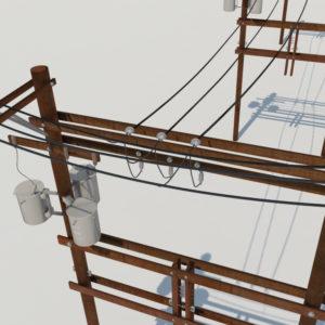 power-line-distribution-line-voltage-regulators-3d-model-2