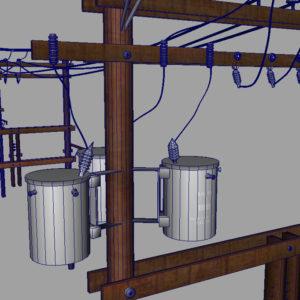 power-line-distribution-line-voltage-regulators-3d-model-21