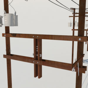 power-line-distribution-line-voltage-regulators-3d-model-5