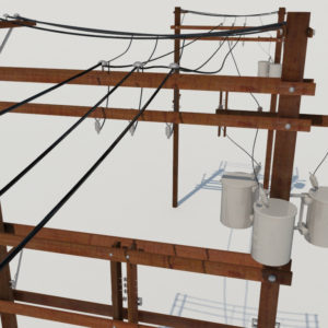 power-line-distribution-line-voltage-regulators-3d-model-7