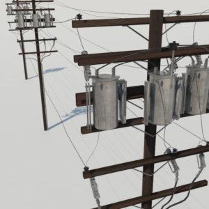 powerline-utility-pole-3d-model-2