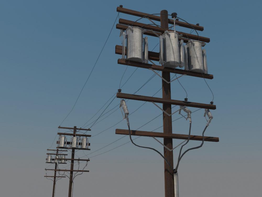 powerline-utility-pole-3d-model-3
