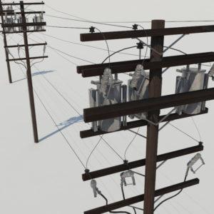 powerline-utility-pole-3d-model-4