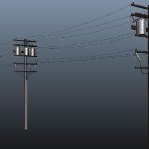 powerline-utility-pole-3d-model-9