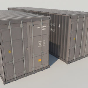 shipping-cargo-containers-gray-3d-model-1