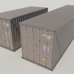 shipping-cargo-containers-gray-3d-model-2