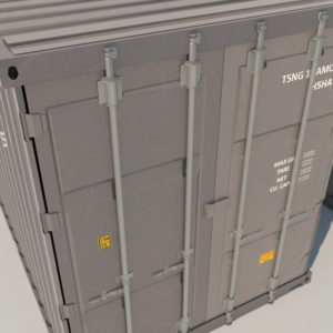 shipping-cargo-containers-gray-3d-model-4
