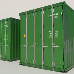 shipping-cargo-containers-green-3d-model-3