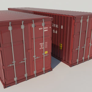 shipping-cargo-containers-red-3d-model-1
