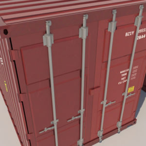 shipping-cargo-containers-red-3d-model-4