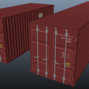 shipping-cargo-containers-red-3d-model-7