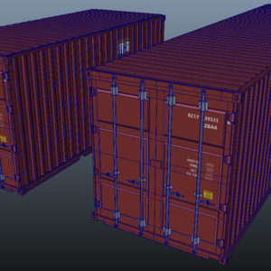 shipping-cargo-containers-red-3d-model-8