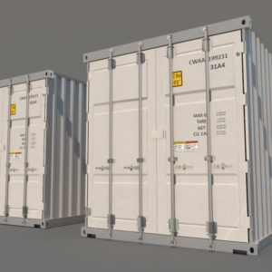 shipping-cargo-containers-white-3d-model-3