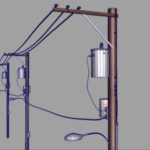 street-power-line-3d-model-10