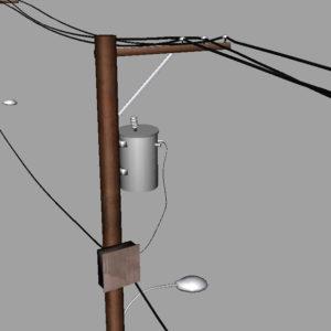 street-power-line-3d-model-11