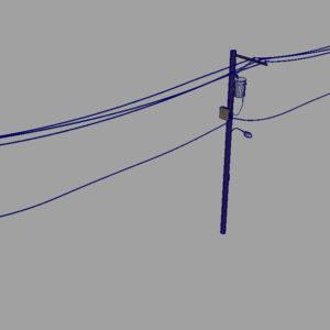 street-power-line-3d-model-14