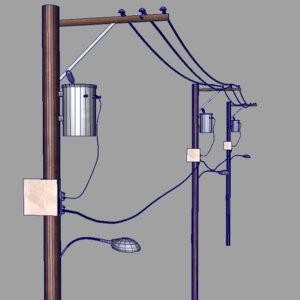 street-power-line-3d-model-16