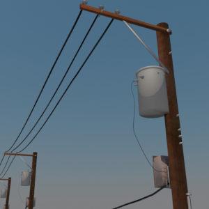 street-power-line-3d-model-5