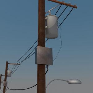 street-power-line-3d-model-6