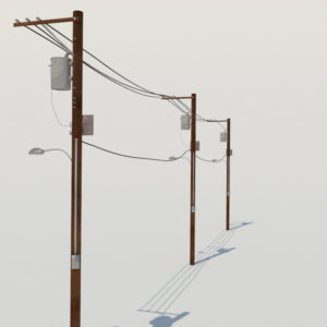 street-power-line-3d-model-8