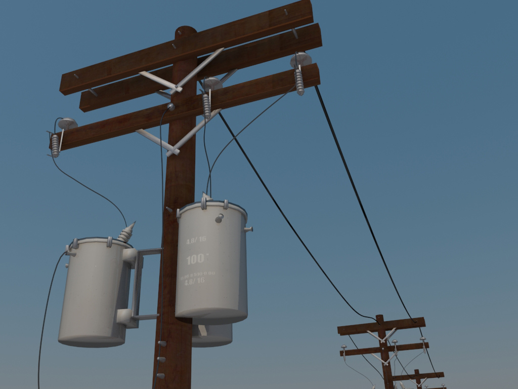 wooden-power-line-3d-model-4